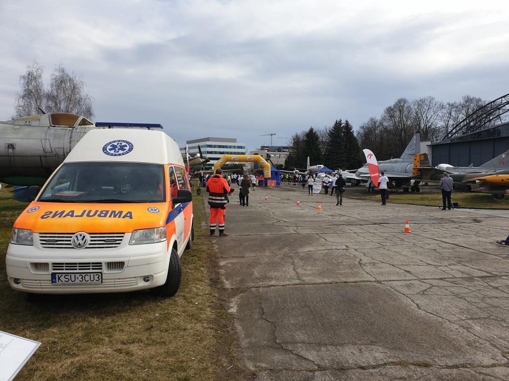Zabezpieczenie medyczne – Bieg Tropem Wilczym – Kraków 2020