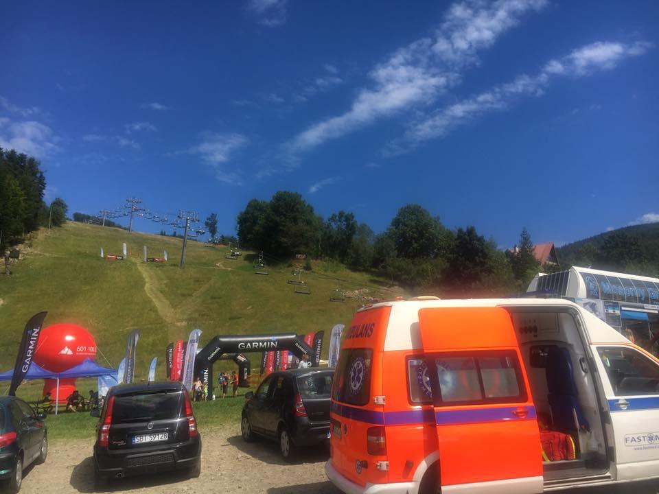 Zabezpieczenie medyczne Biegu Górskiego w Zawoi