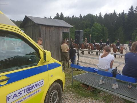 23 Maja ostatni dzień zawodów konnych – zabezpieczenie medyczne