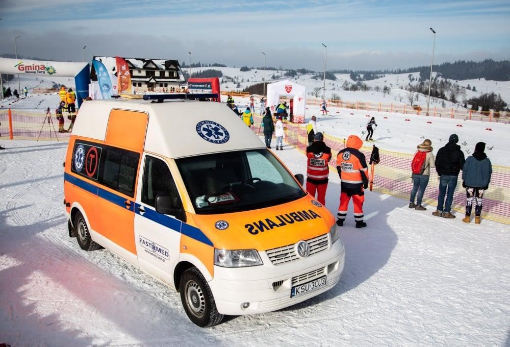 Puchar Burmistrza w Biegach Narciarskich – zabezpieczenie medyczne