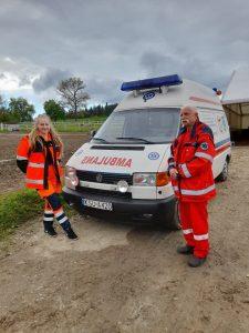Drugi dzień zawodów na Folwarku - zabezpieczenie medyczne @ Toporzysko
