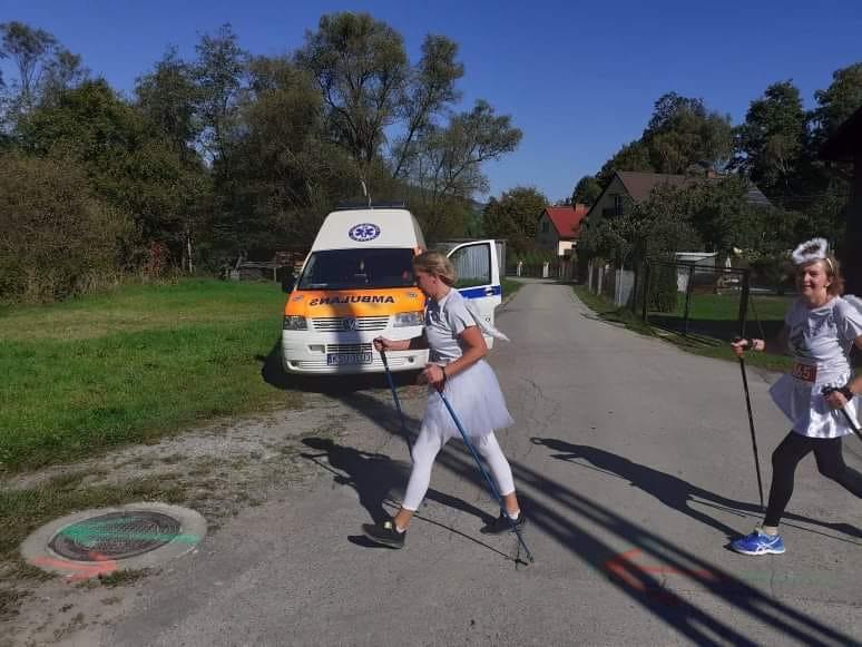 Bieg i marsz Nordic Walking Aniołów Stryszawa – zabezpieczenie medyczne